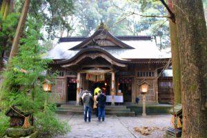 高千穂神社 拝殿