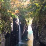 紅葉の高千穂峡