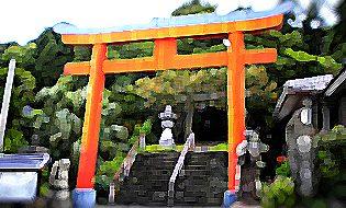 吾平津神社 乙姫神社