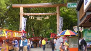 天岩戸神社 神楽 春季大祭 高千穂の神社