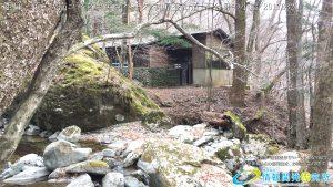 祖母・傾・大崩ユネスコエコパーク 神原登山ルート 五合目の山小屋